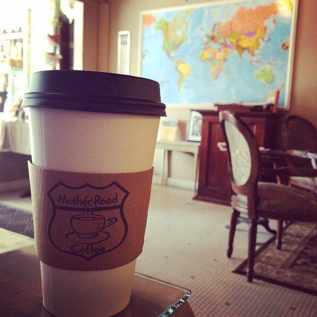 My favoriet route 66 coffee shop.