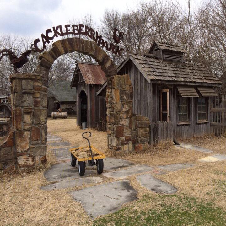A chicken coop at Red Oak II