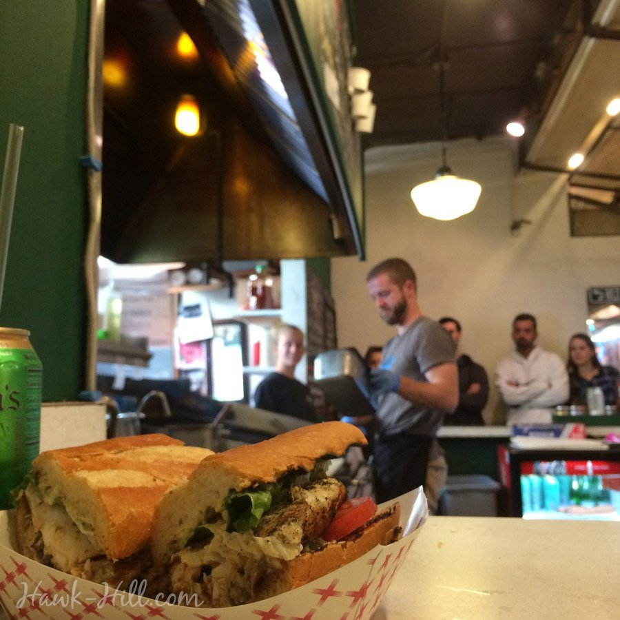 Pike place market grill