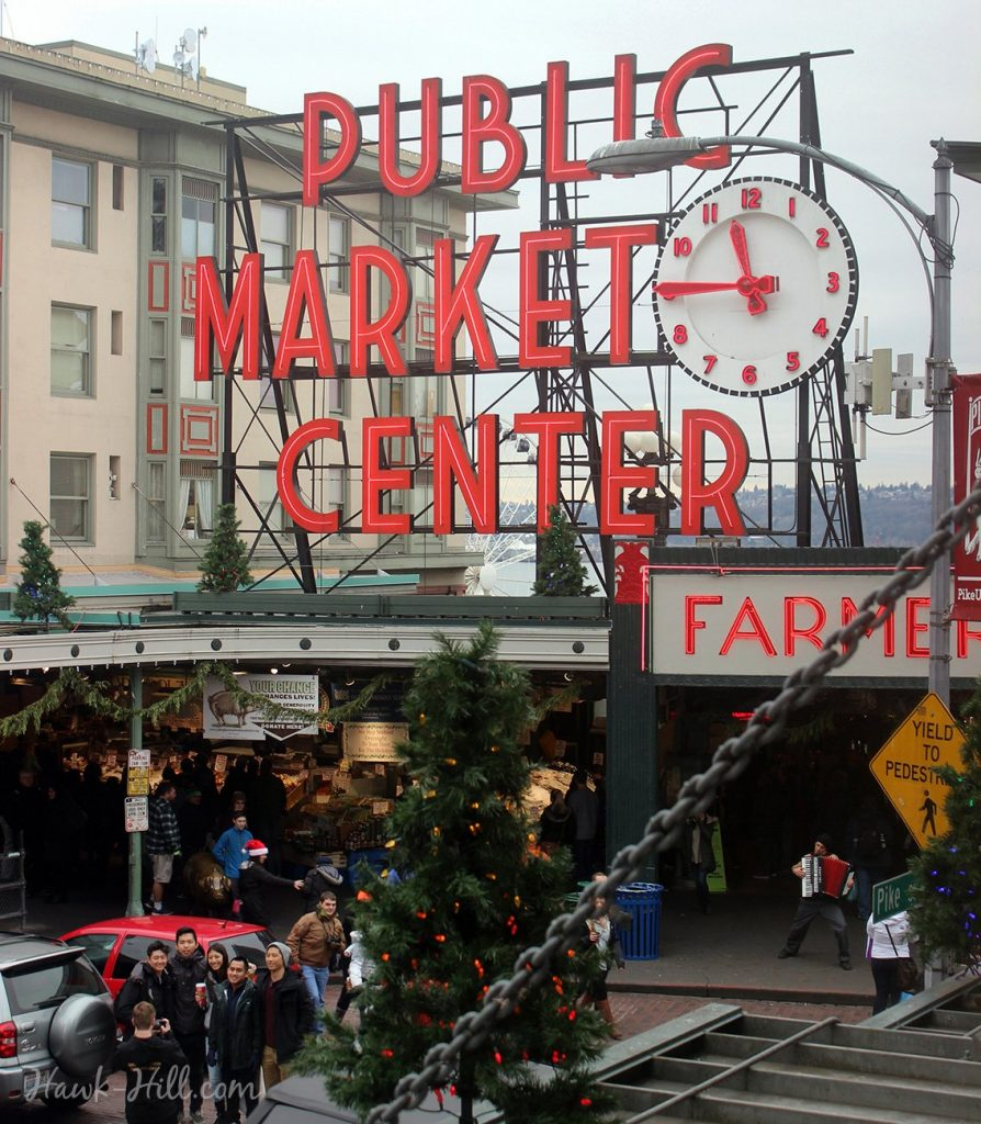 Pike Place Christmas Bucket List
