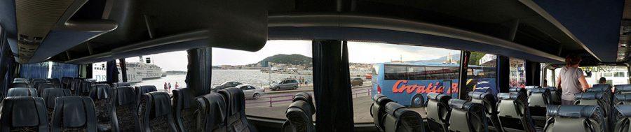 Pano bus. Split to mostar. Bosnia 4 6