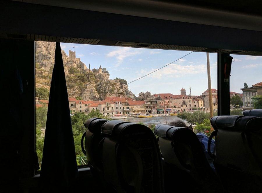 Hh bus solo bus. Split to mostar. Bosnia 744