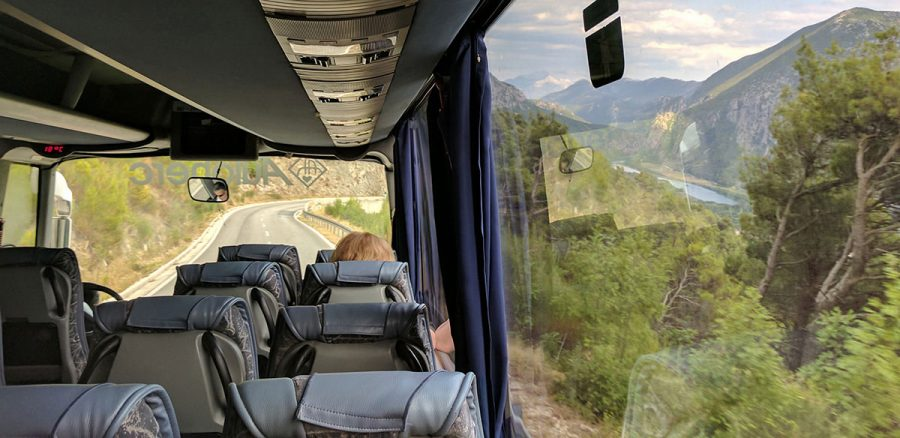 Hh bus solo bus. Split to mostar. Bosnia 7s