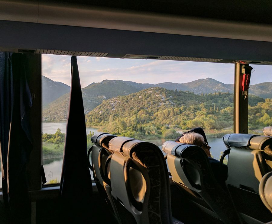 Hh bus solo bus. Split to mostar. Bosnia 9