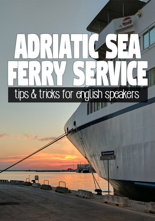 Adriatic Sea Ferry Service