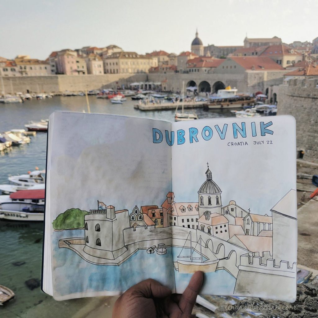 lb travel journal doodle art 003