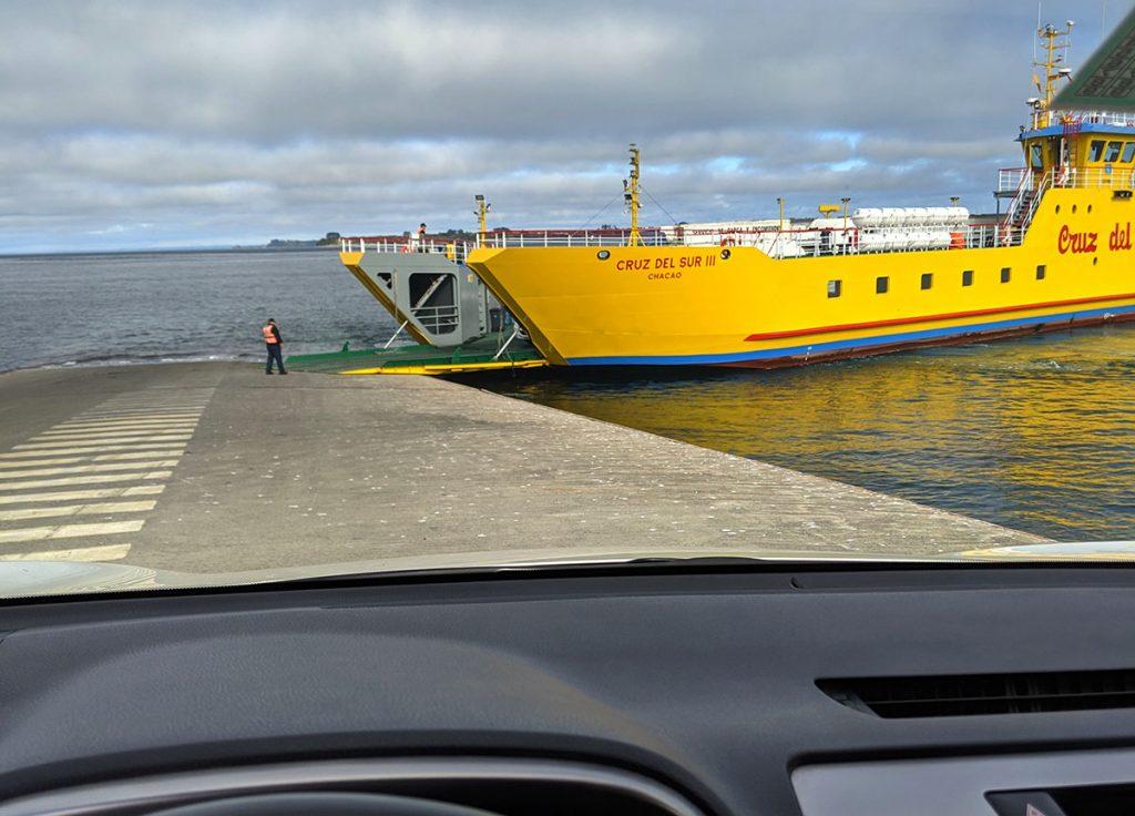 Chiloe island ferry