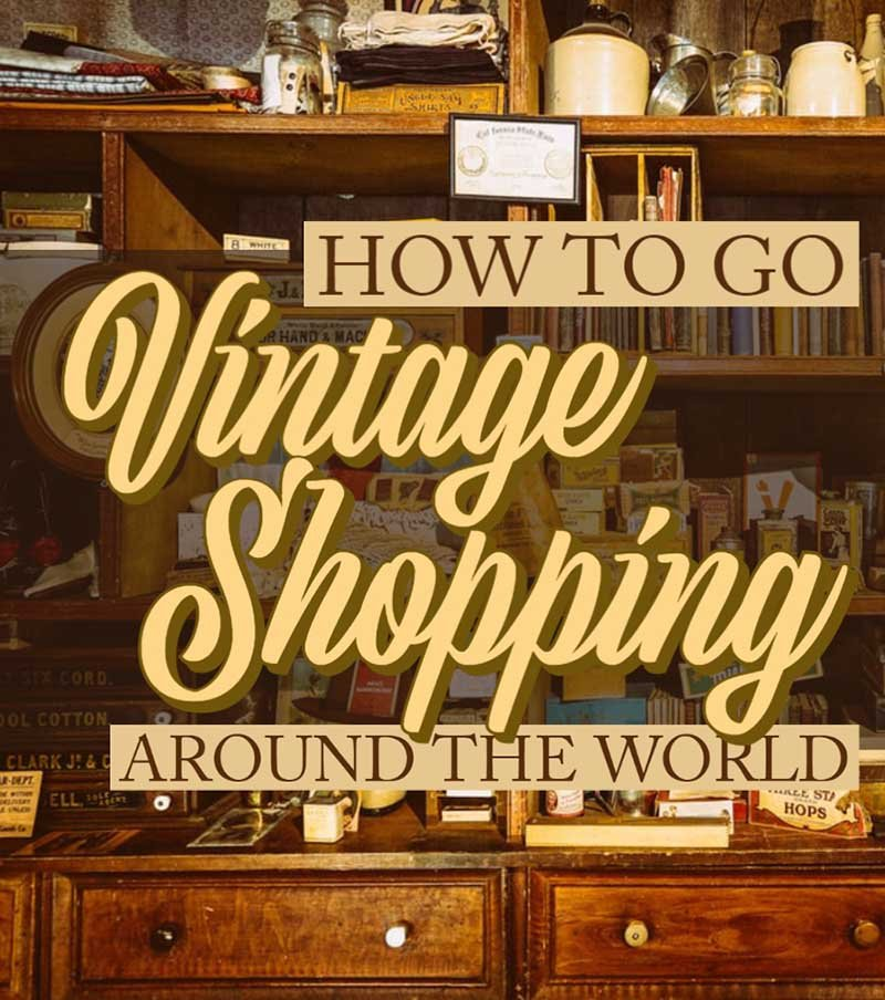 hh vintage shopping travel