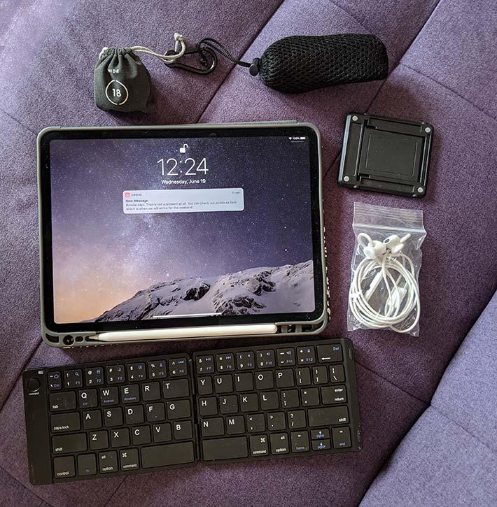 My ultralight portable office