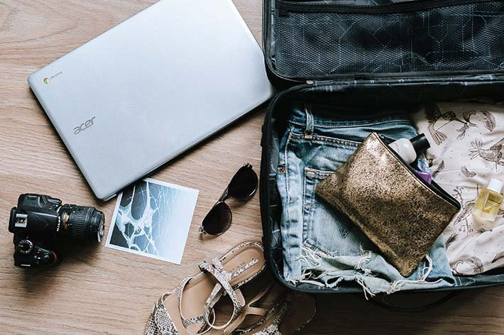 What you pack will define your needs in a suitcase for travel