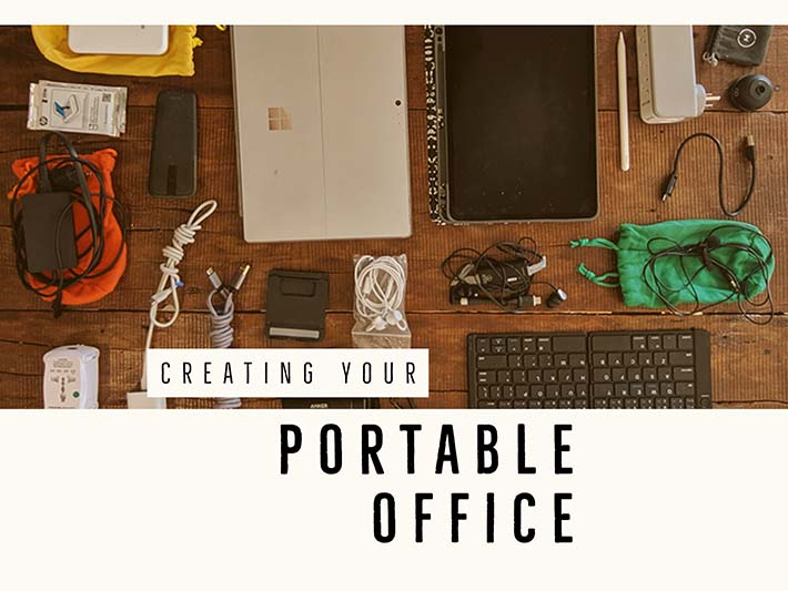 wb portable office WIDE