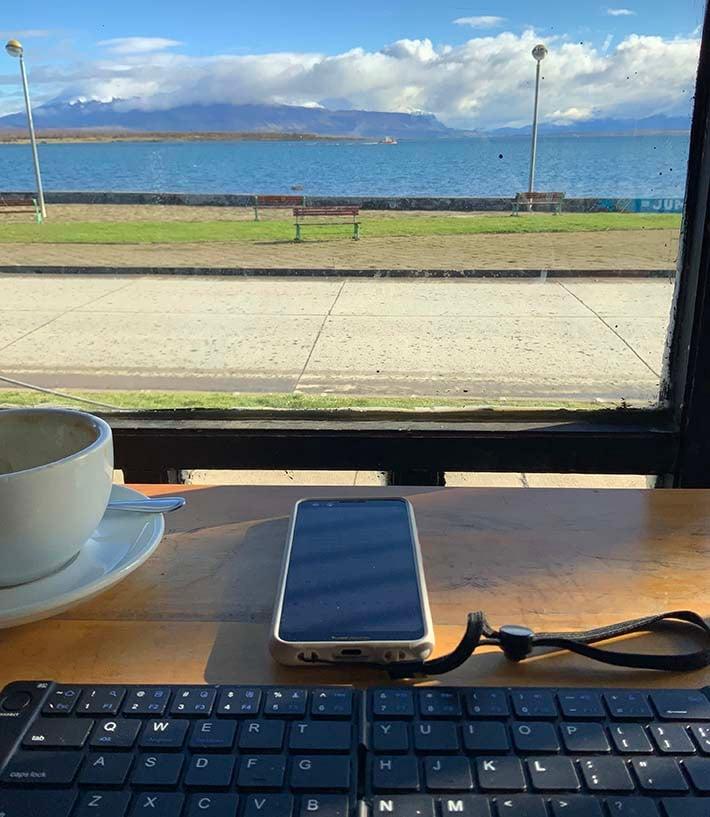remote work patagonia