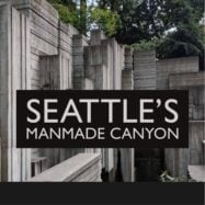 Visiting freeway park – downtown seattle's manmade canyon on a freeway lid
