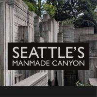 Freeway Park; Seattle's brutalist manmade canyon on a freeway lid