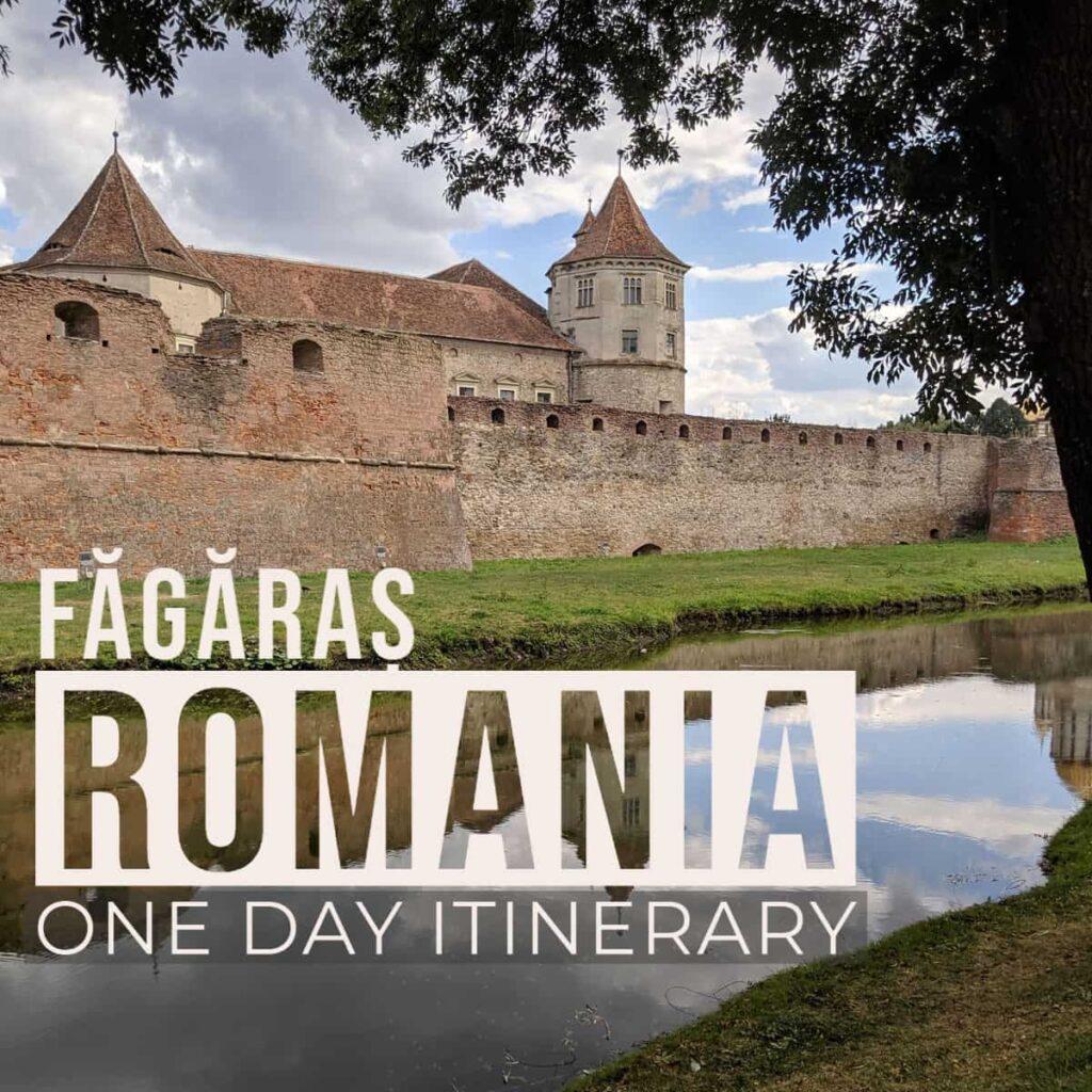 Itenerary for exploring fagaras and the surrounding area in romania
