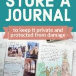 wb how to store a journal tall
