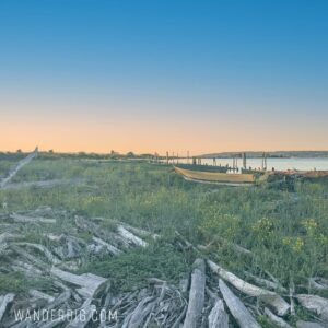 Seattle day trip – the sandy shores of jetty island
