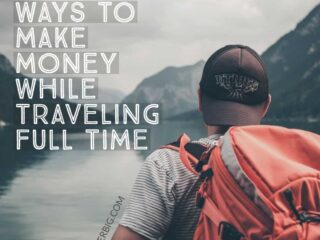 If you plan to try and travel long-term, you'll need a source of income.