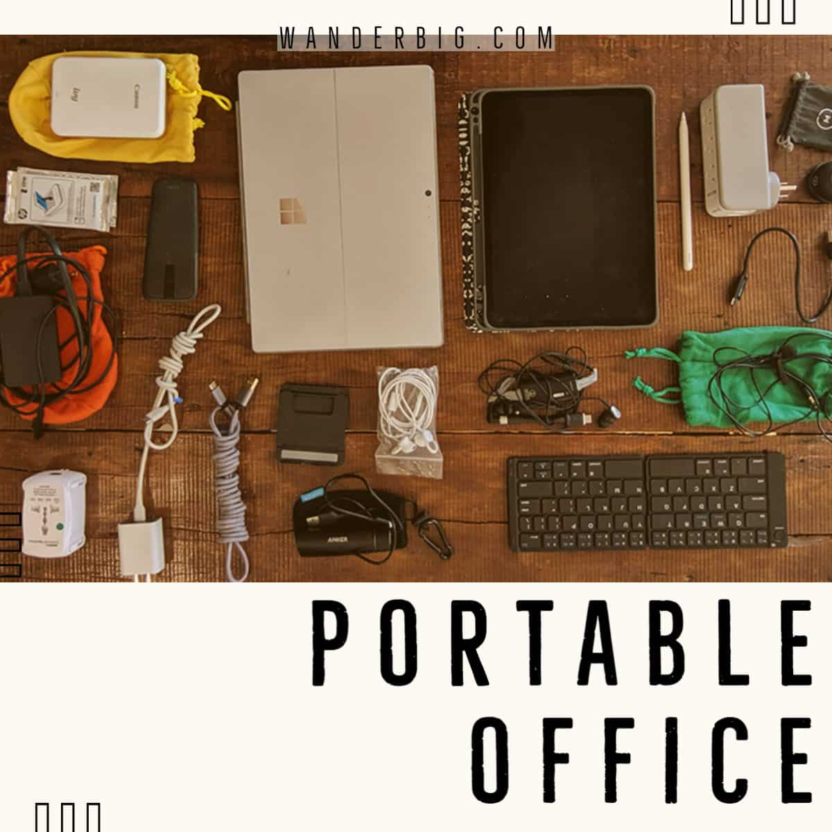 How to build a portable office for seamless remote work