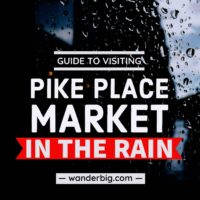 Enjoying Pike Place Market in the Rain: Things to Do