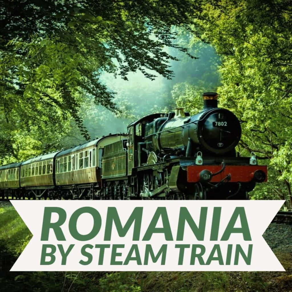 Traveling in eastern europe by train