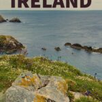 Text overlay of an irish backdrop states why ditching dublin for wexford ireland was the best part of my trip