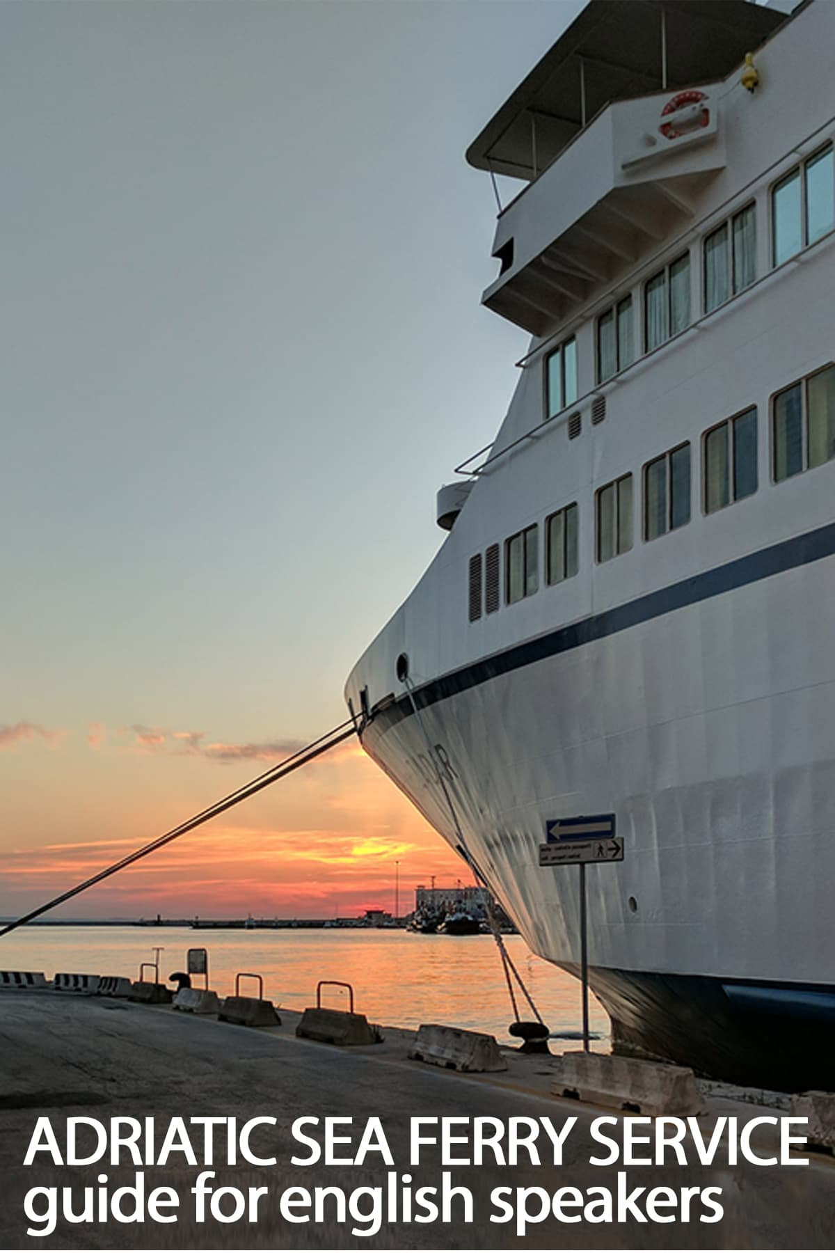 Navigating the state run adriatic sea ferries from italy to croatian coasts
