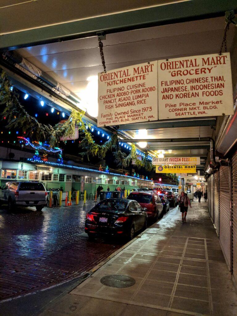 Pike place oriental market