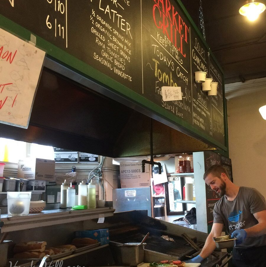 Pike place market's market grill