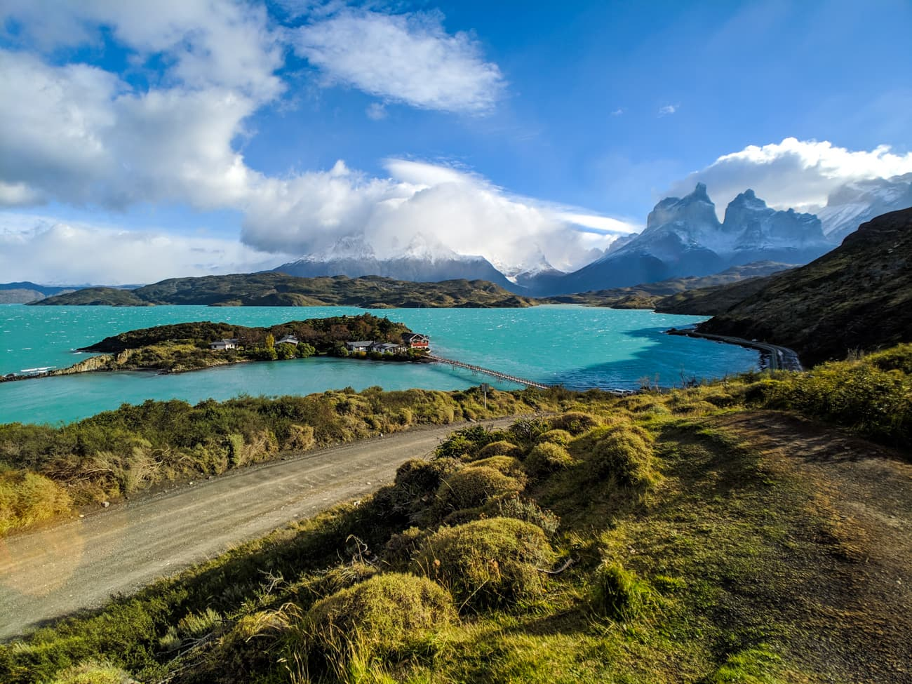 Puerto natales is the closest city to torres del paine national park