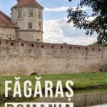 Itinerary for exploring fagaras and the surrounding area in romania