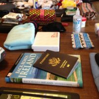 packing for a trip to ireland