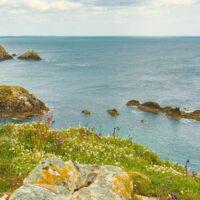 A beach view in Wexford Ireland