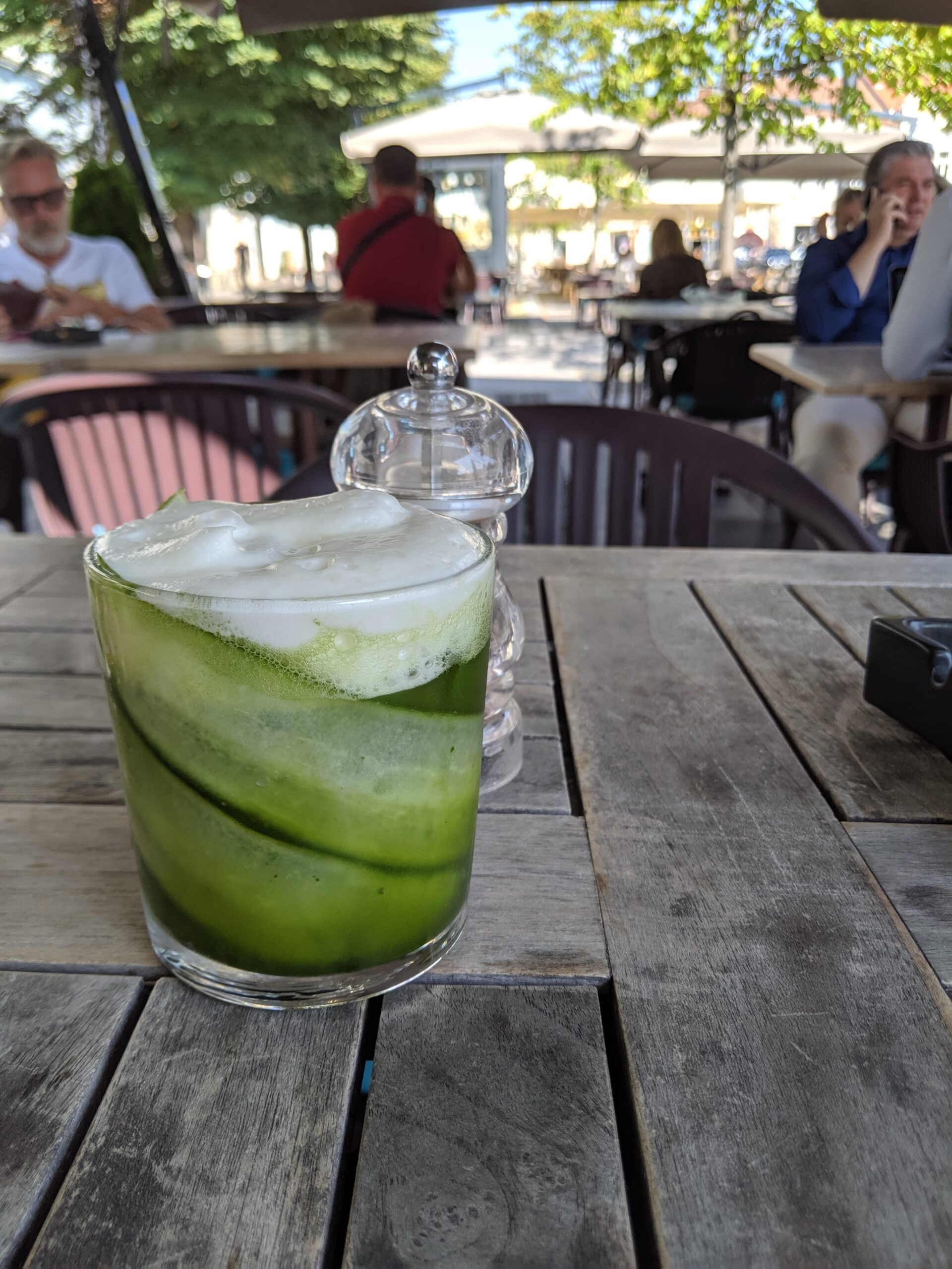 Green smoothie in romania.