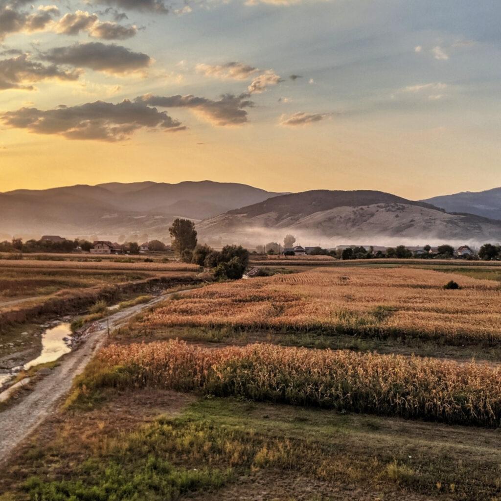 Transylvanian countryside.