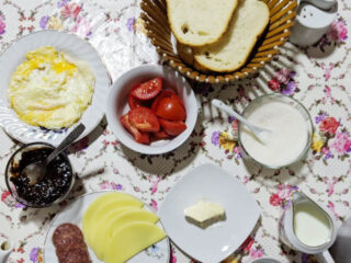 Transylvanian Breakfast.
