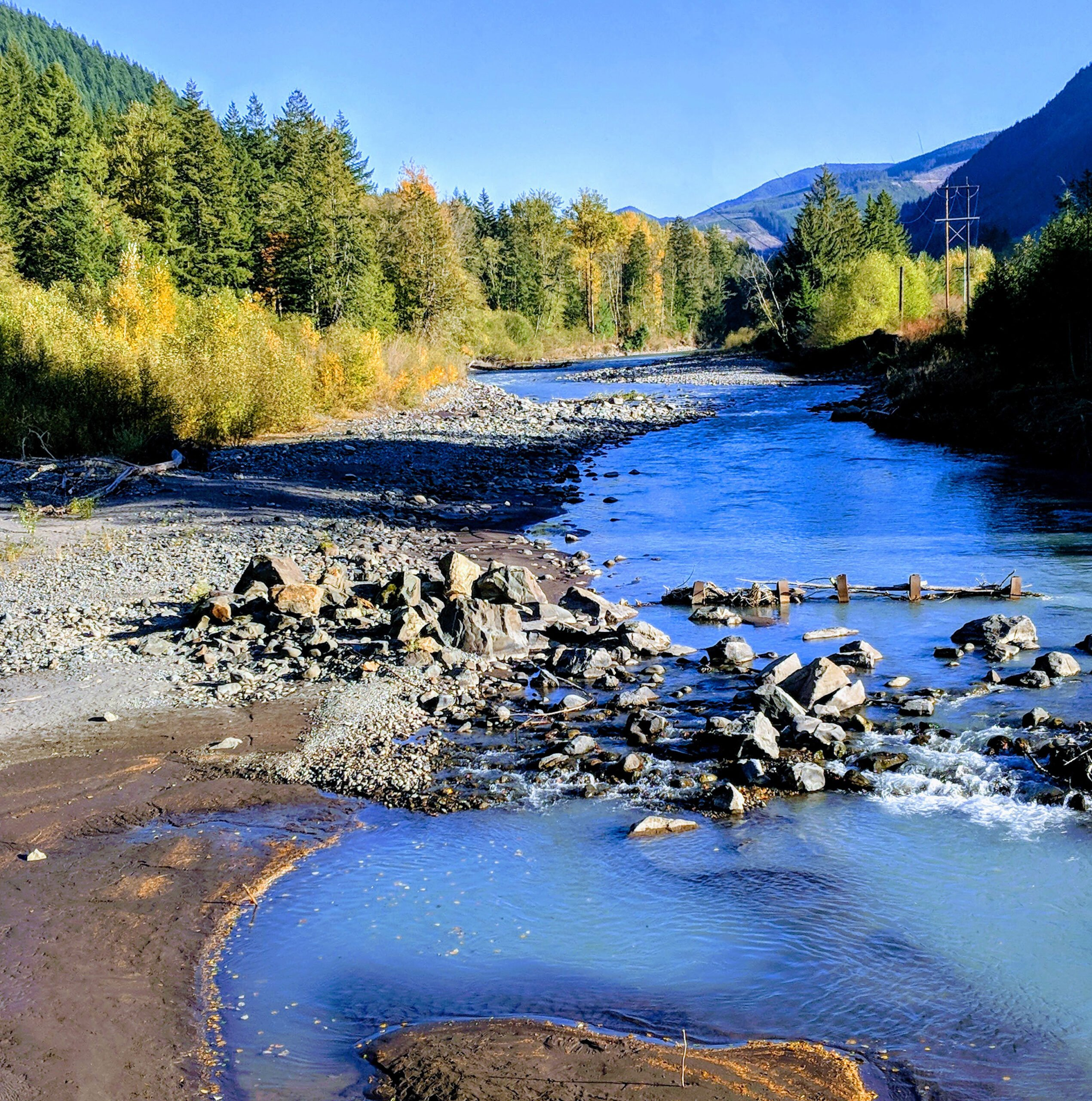 The white river in washington state.
