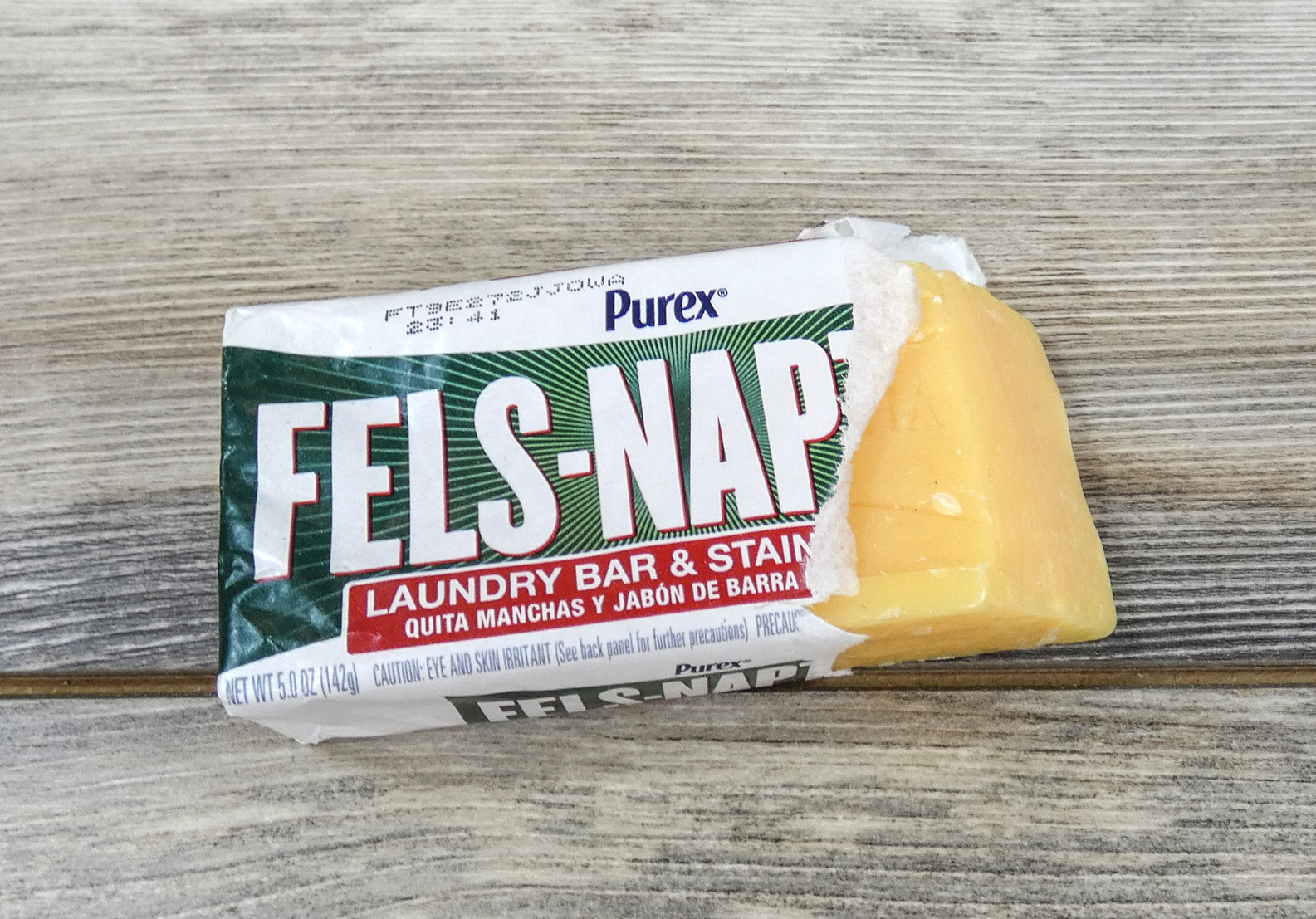 Fels naptha is a popular bar soap but too brittle for diy laundry detergent sheets.