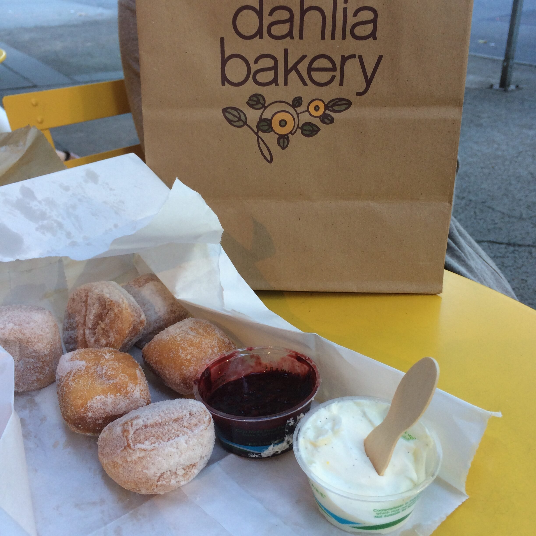 Beignets from dahlia bakery.