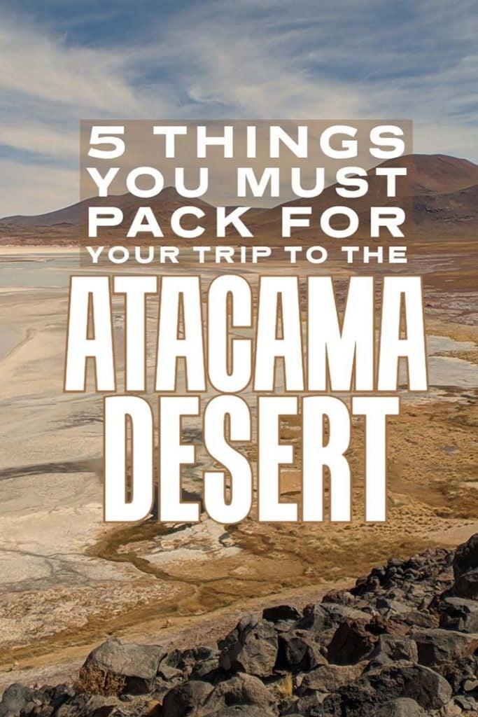 tips for visiting San Pedro de Atacama: