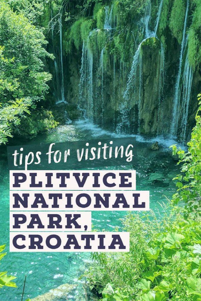 Visiting plitvice park in croatia