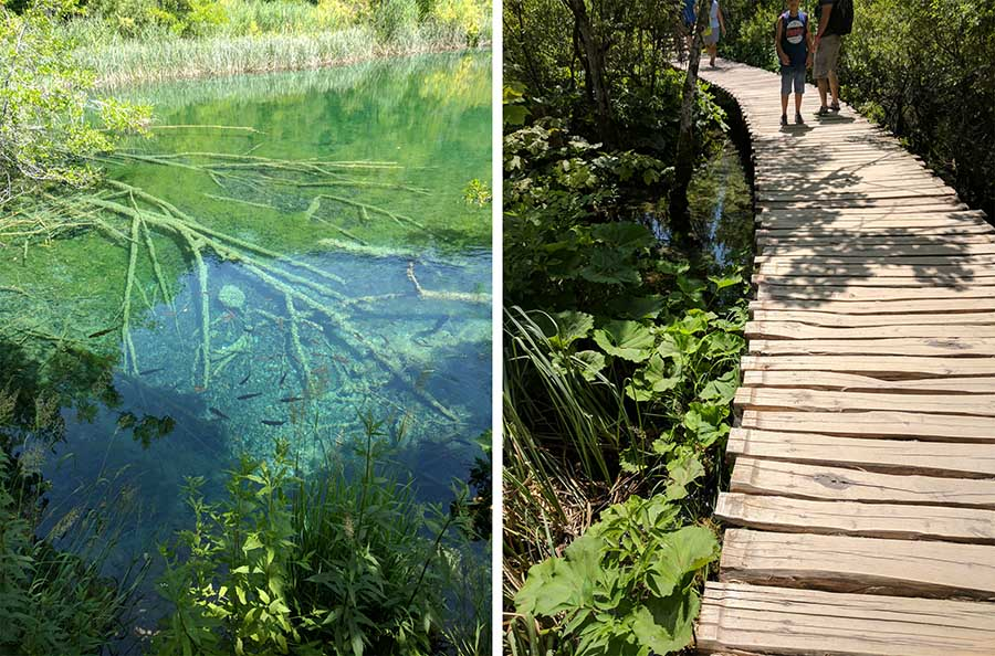 Tips for visiting plitvice park in a boyd with disabilities or chronic illness.